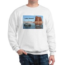 Lake Powell, Arizona, USA (caption) 2 Sweatshirt
