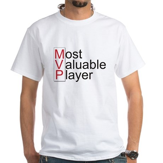 MVP White T-Shirt