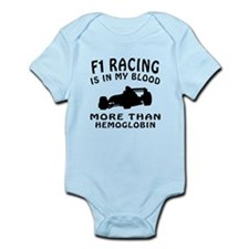 Formula one Racing Designs Infant Bodysuit