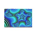 Fractal S~11 Rectangle Magnet (10 pack)