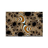 Fractal S~16 Rectangle Magnet (10 pack)