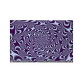Fractal S~18 Rectangle Magnet (10 pack)
