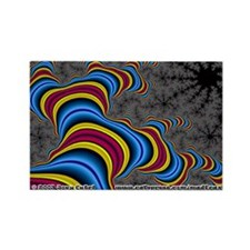 Fractal S~19 Rectangle Magnet (10 pack)