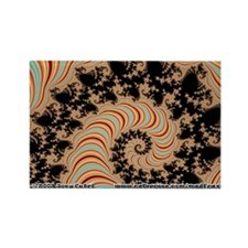 Fractal S~20 Rectangle Magnet (10 pack)