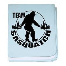 Team Sasquatch baby blanket