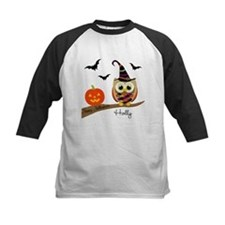 Custom name Halloween owl Tee