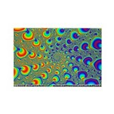 Fractal R~02 Rectangle Magnet (10 pack)