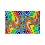 Fractal R~05 Rectangle Magnet