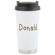 Donald Coffee Beans Ceramic Travel Mug