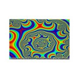 Fractal R~09 Rectangle Magnet