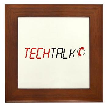 TechTalk Framed Tile