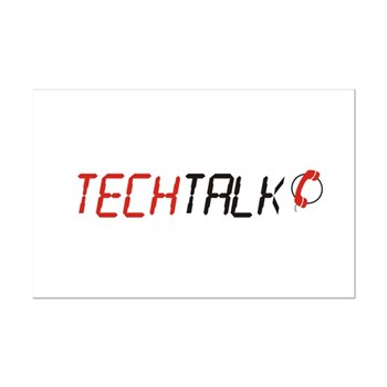 TechTalk Mini Poster Print
