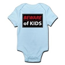 Beware Of Kids Onesie