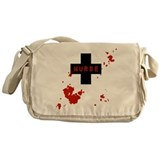 evil-nurse_spatter.png Messenger Bag