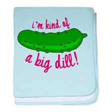 A Big Dill baby blanket