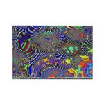 Fractal C~13 Rectangle Magnet (10 pack)