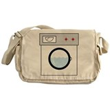 Washing Machine Messenger Bag