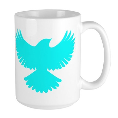 Robin Sidekick Superhero Bird Large Mug