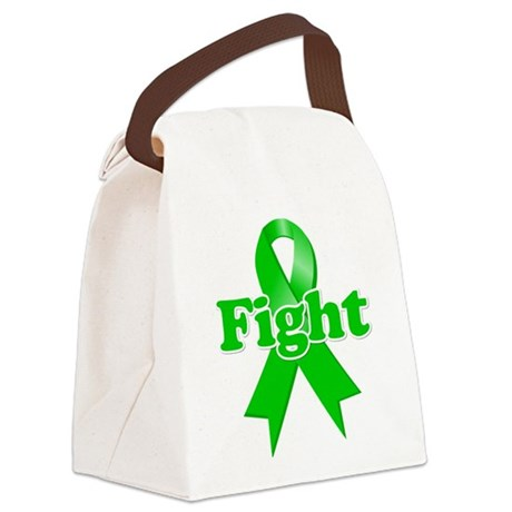 Fight Bile Duct Cancer.png Canvas Lunch Bag