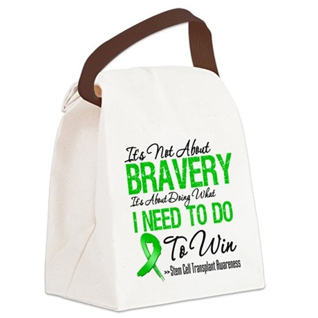 SCT Bravery.png Canvas Lunch Bag