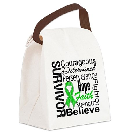 SCT Survivor Collage.png Canvas Lunch Bag