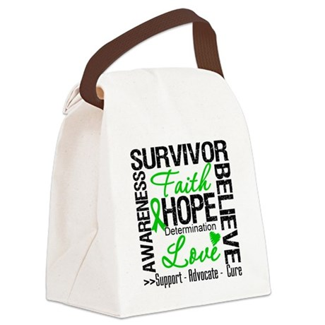 SCT Survivors Motto.png Canvas Lunch Bag