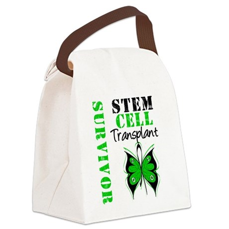sctsidesurvivorbutterfly.png Canvas Lunch Bag