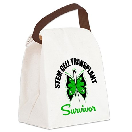 SCT Survivor Butterfly Canvas Lunch Bag