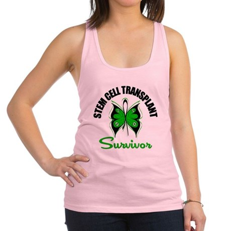 SCT Survivor Butterfly Racerback Tank Top