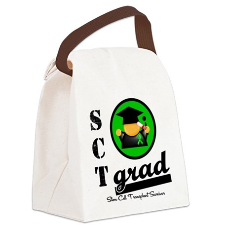 Stem Cell Transplant Grad Canvas Lunch Bag