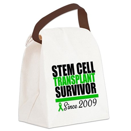 sctsurvivorsince2009.png Canvas Lunch Bag