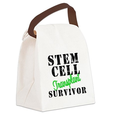 SCTsurvivorgreen.png Canvas Lunch Bag