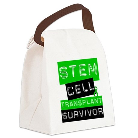 scttransplantsurvivorlabel.png Canvas Lunch Bag