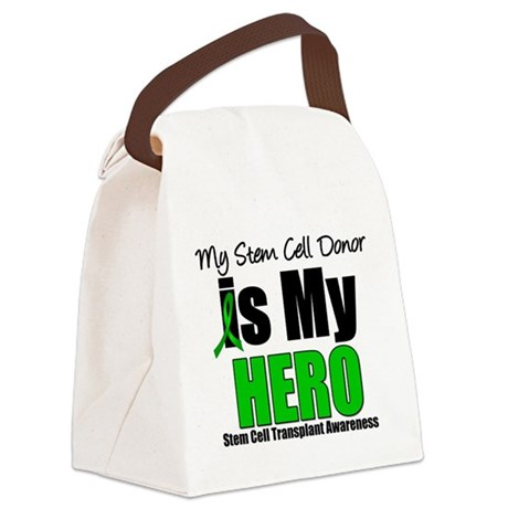 stemcelllhero.png Canvas Lunch Bag
