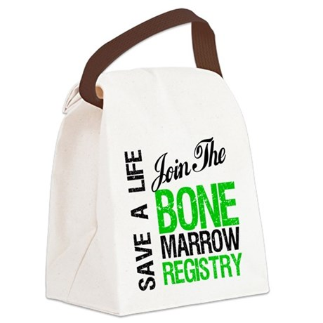 jointhebonermarrowregistry.png Canvas Lunch Bag