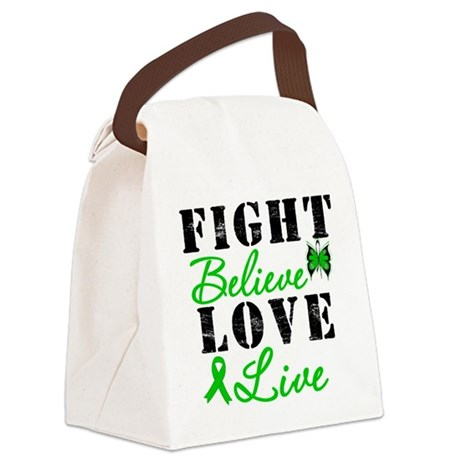 SCT FightBelieveLoveLive Canvas Lunch Bag