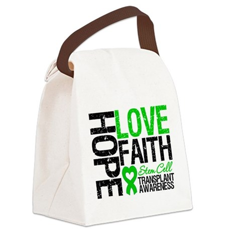 SCT Hope Love Faith Canvas Lunch Bag