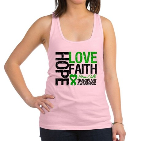 SCT Hope Love Faith Racerback Tank Top