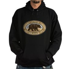 Bighorn Brown Bear Badge Hoodie