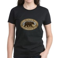 Bighorn Brown Bear Badge Tee