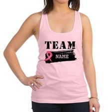 Team Breast Cancer Racerback Tank Top
