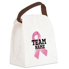 Team Name Canvas Lunch Bag