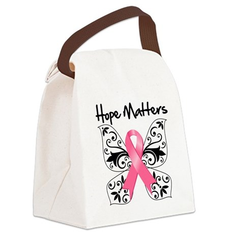 Hope Matters Breast Cancer Canvas Lunch Bag