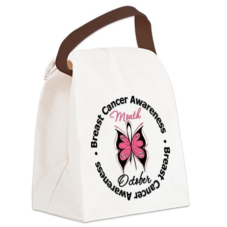 Breast Cancer Awareness Month Canvas Lunch Bag