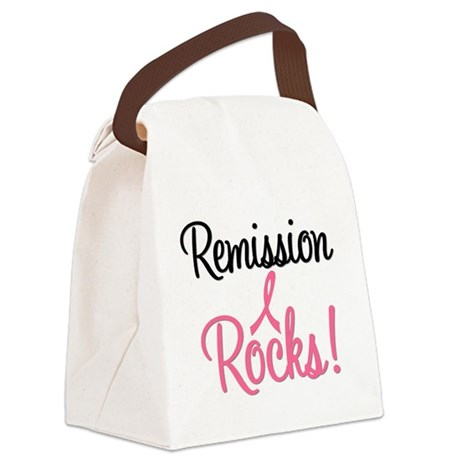 remissionrockspink Canvas Lunch Bag