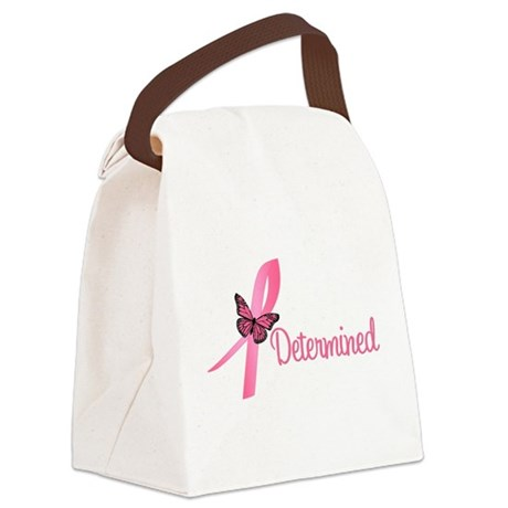 determinedbutterfly.png Canvas Lunch Bag