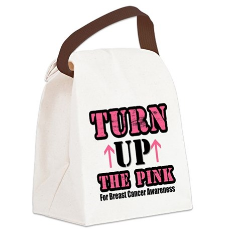 turnupthepink.png Canvas Lunch Bag