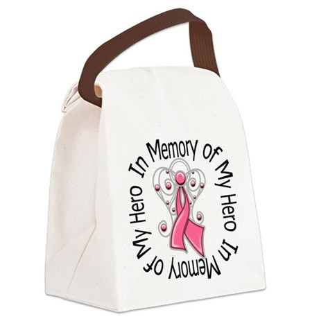 In Memory of My Hero Canvas Lunch Bag