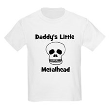 Daddy's Little Metalhead Kids T-Shirt