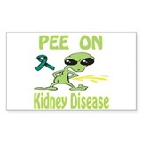 Pee on Kidney Disease Decal